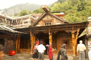 Hot spring temple