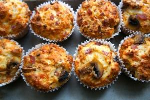 Scrummy Savoury Muffins