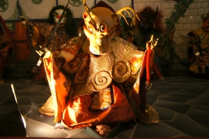 Cham festival dance doll